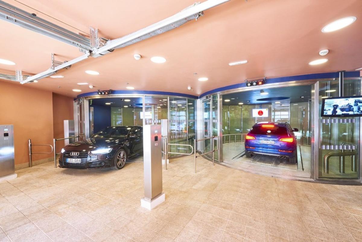 parcheggio Parksafe 580