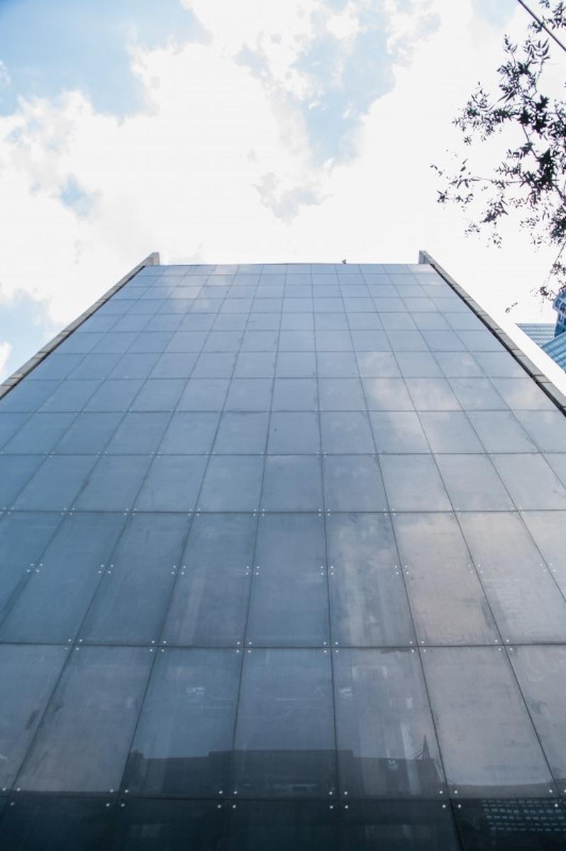 Parcheggio automatizzato nel grattacielo