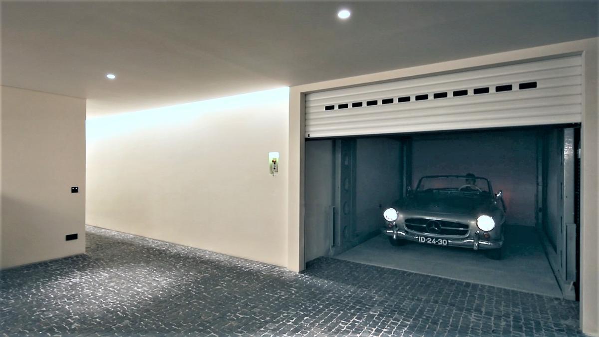 garage interrato zservito da montauto