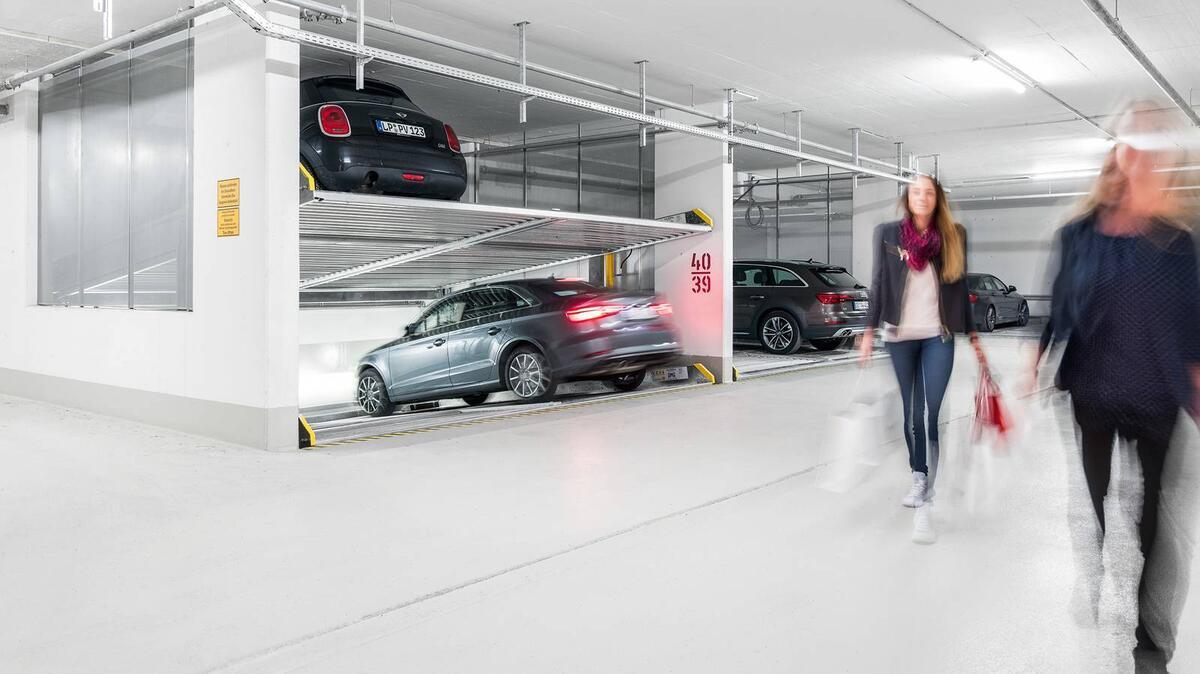 parcheggio meccanico