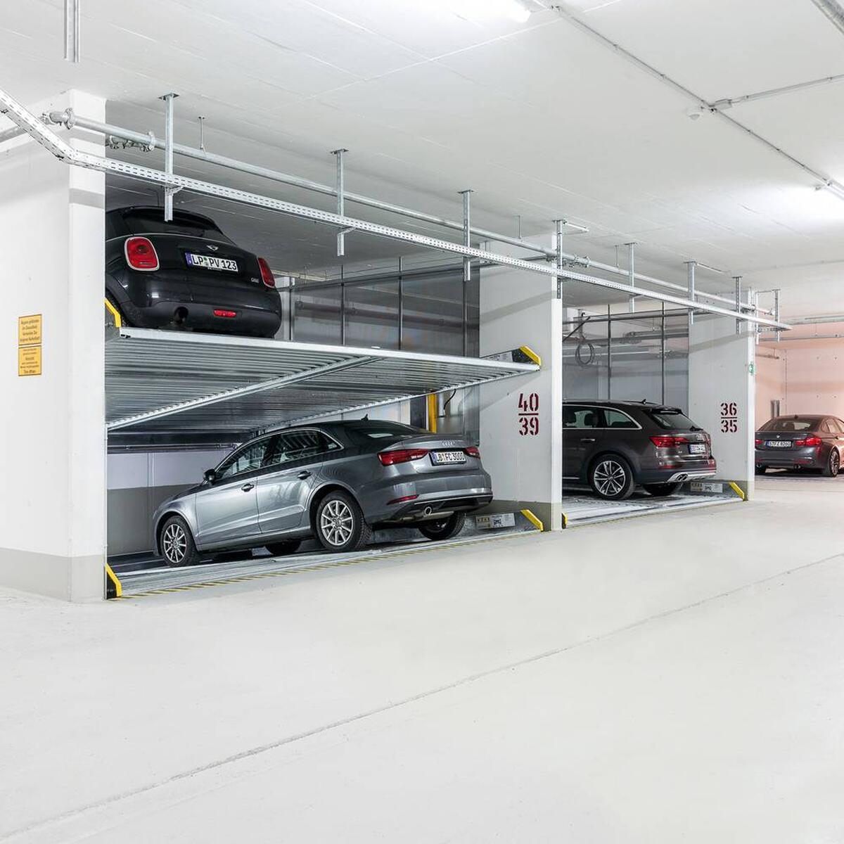 parcheggio meccanizzato
