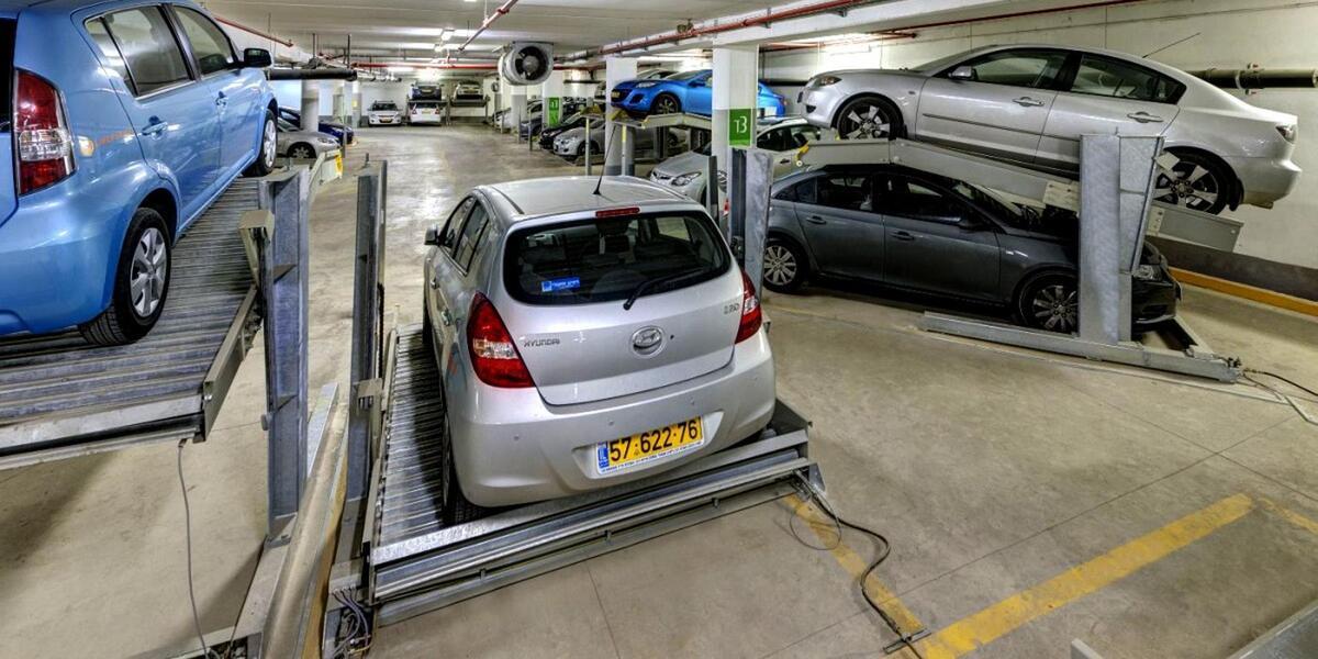 sistema di parcheggio