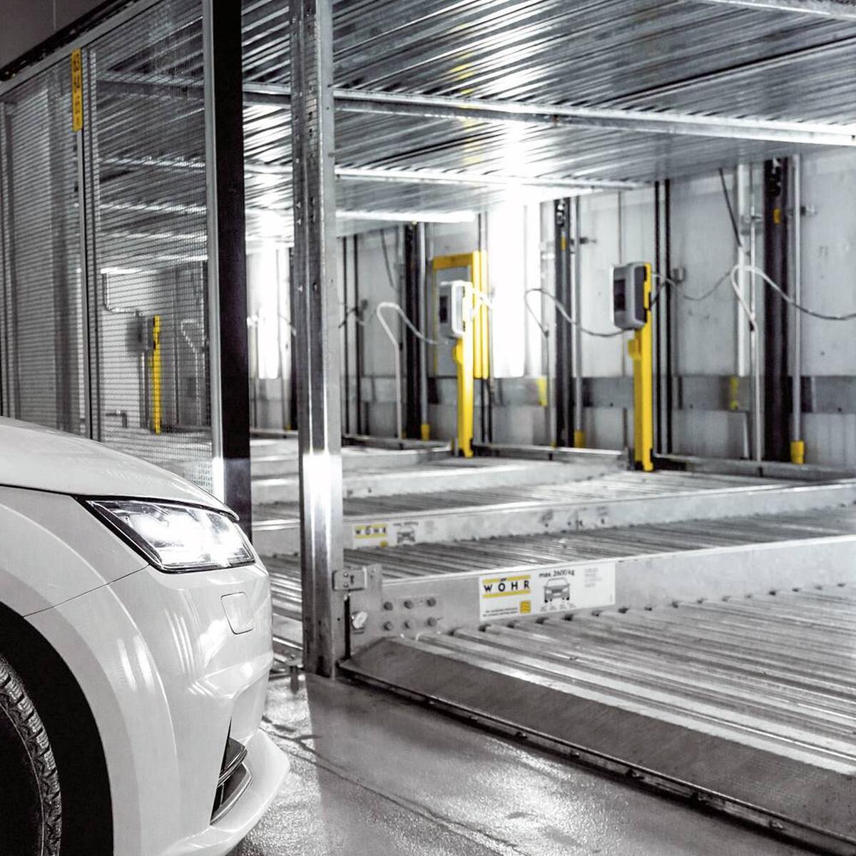 sistema di parcheggio meccanizzato Combilift