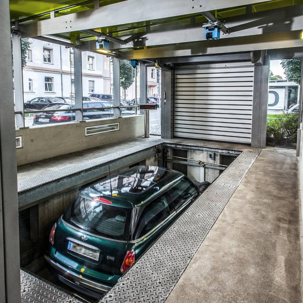 Multiparker 740 parcheggio automatico