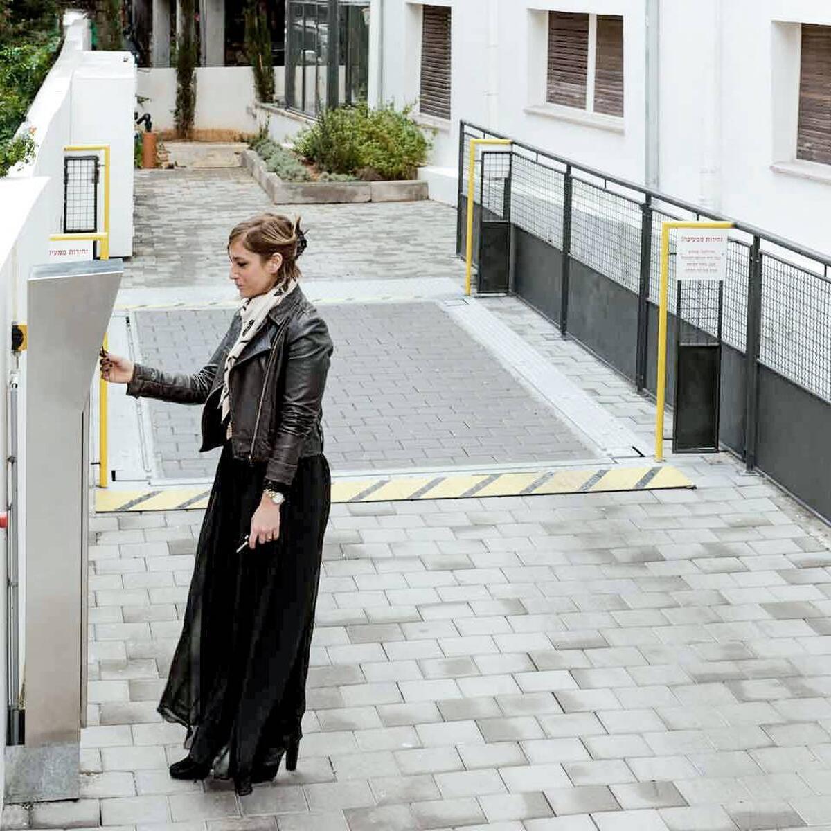 parcheggio automatizzato con tetto Slimparker