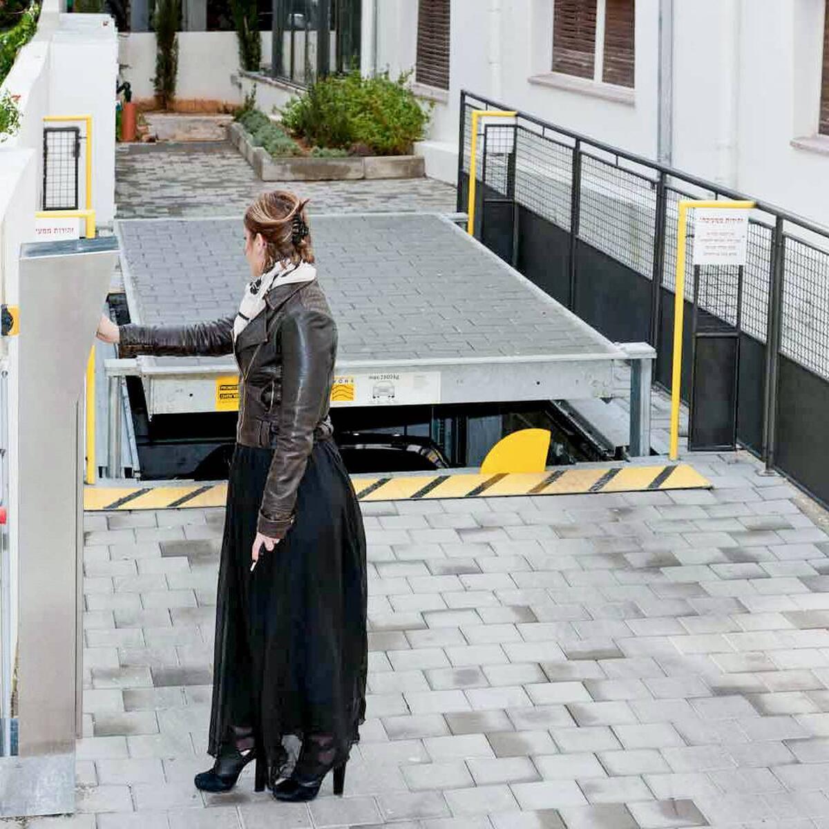 parcheggio automatizzato Slimparker per spazi ristretti