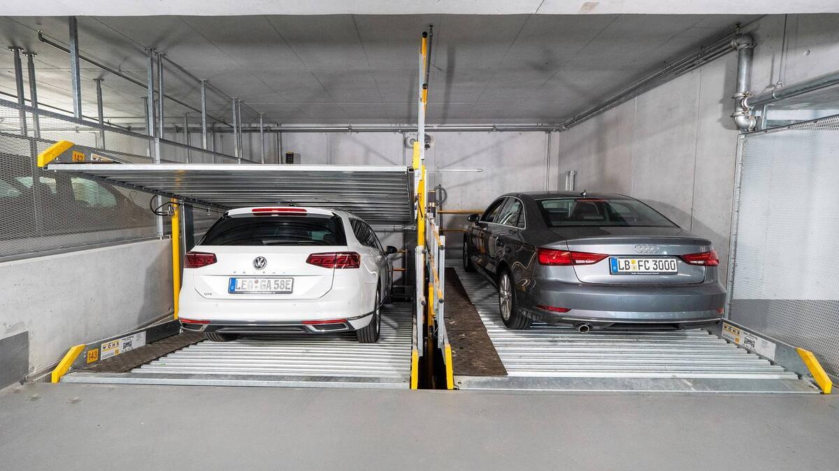 parcheggio meccanico Parklift