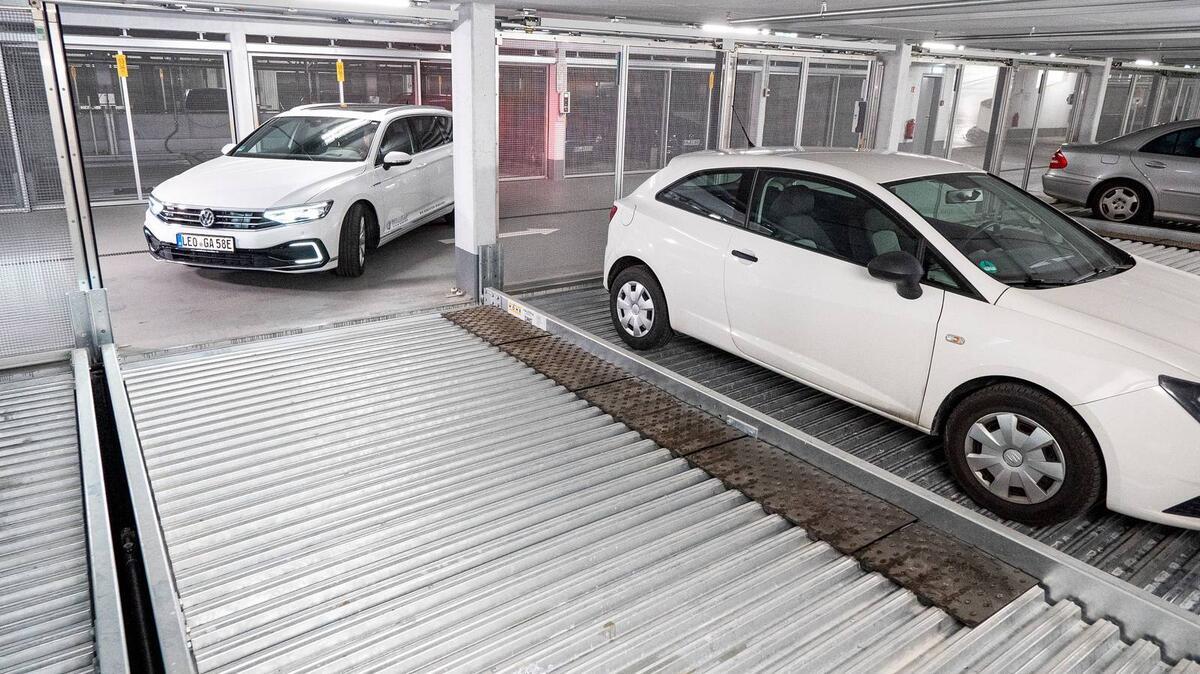 parcheggio Combilift