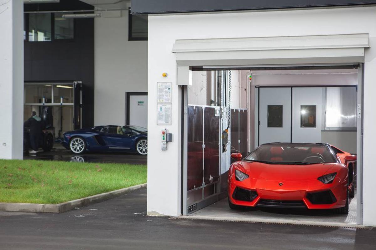 Progetto di Sede Lamborghini, Sant'Agata Bolognese