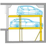 Parcheggio per auto Parklift 450
