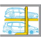 Raddoppiatore di parcheggio Parklift 411