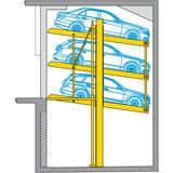 Piattaforma di parcheggio Parklift 403