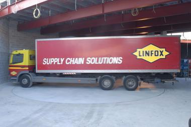 Piattaforme rotanti per aree logistiche