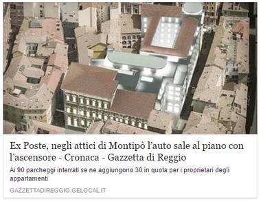 Ascensore per auto Reggio Emilia