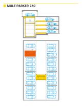 Multiparker 760 - Sistema di parcheggio auto automatizzato in struttura